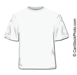 wektor, ilustracja, t-shirt.