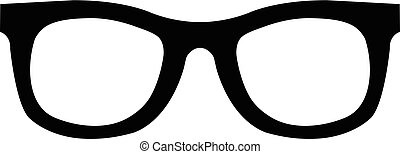 wektor, sunglasses, ikona