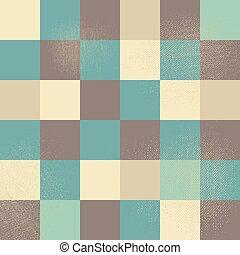 wektor, sztuka, pixel, tło