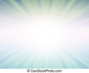 wektor, tło, błękitny, słońce