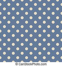 wektor, wielokropek polki, błękitne tło