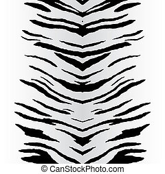 wektor, zebra obnaża