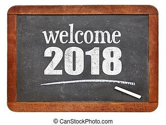 Welcome 2018 on blackboard