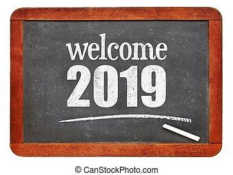 Welcome 2019 on blackboard