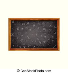 Welcome back to schoo With Black Board.