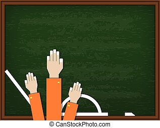 Welcome back to school design. Vector illustration