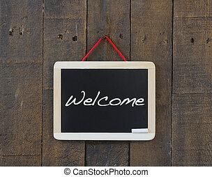 Welcome blackboard.