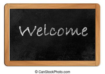 Welcome on a Blackboard