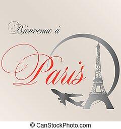 Welcome Paris.eps