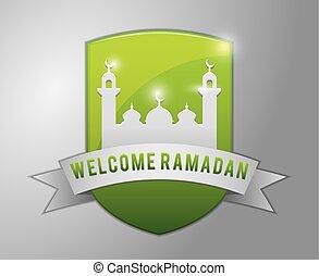 Welcome Ramadhan Badge