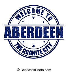 Welcome to Aberdeen stamp