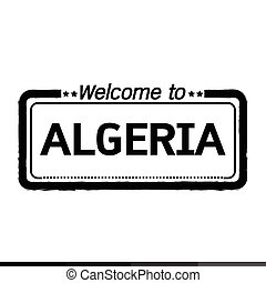 Welcome to ALGERIA illustration design