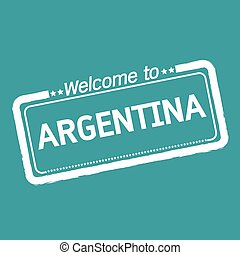 Welcome to ARGENTINA illustration design