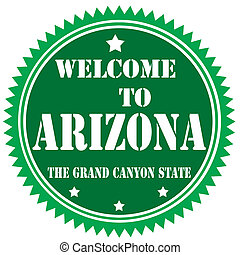 Welcome To Arizona-label