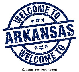 welcome to Arkansas blue stamp