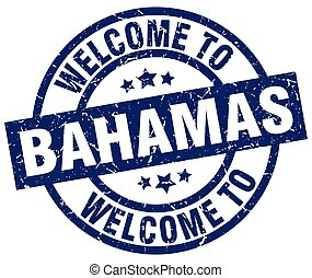 welcome to Bahamas blue stamp