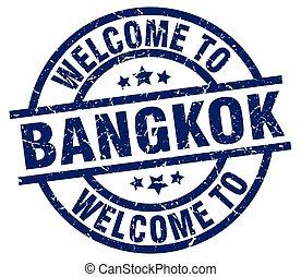 welcome to Bangkok blue stamp
