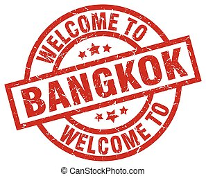 welcome to Bangkok red stamp