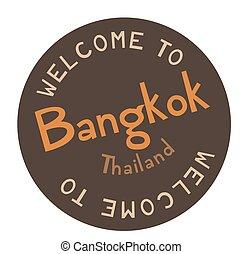 Welcome to Bangkok Thailand