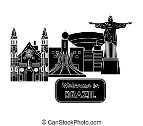 welcome to brazil black