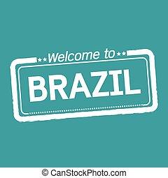 Welcome to BRAZIL illustration design