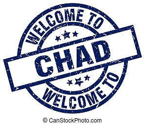 welcome to Chad blue stamp