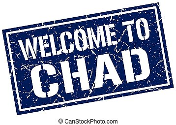 welcome to Chad stamp