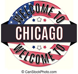 welcome to CHICAGOusa flag icon