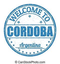 Welcome to Cordoba stamp