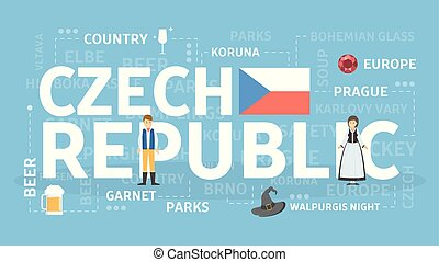 Welcome to Czech Republic. Visit european cultural country.
