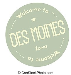 Welcome to Des Moines Iowa