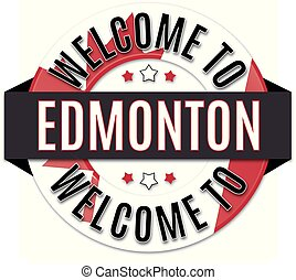 welcome to EDMONTONcanada flag icon