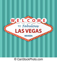 Welcome to Fabulous Las Vegas Nevada Sign On Curtains...