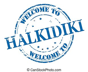 d163d4d7d05 Welcome to Halkidiki Clip Art Vectorby carmenbobo0 2 Welcome to Halkidiki -  Rubber stamp with text welcome to.