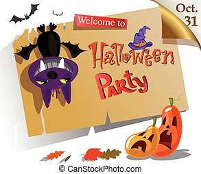Halloween party Poster - Welcome to Halloween party Poster. ...