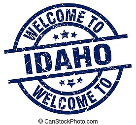 welcome to Idaho blue stamp