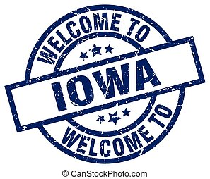 welcome to Iowa blue stamp