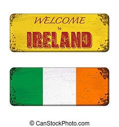 Welcome to Ireland nameplate