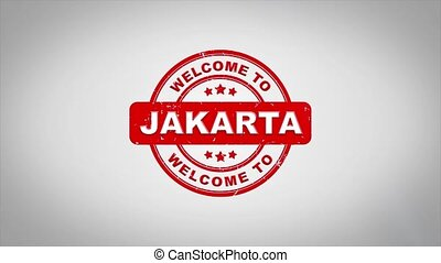 Welcome to JAKARTA Signed Stamping Text Wooden Stamp...
