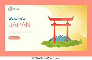 Welcome to Japan, Torii Gate Destination Website - Welcome...