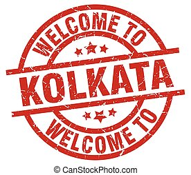 welcome to Kolkata red stamp