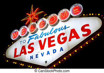 Welcome to Las Vegas, Nevada (USA) - Typical Welcome to...
