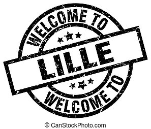 welcome to Lille black stamp