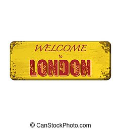 Welcome to London board