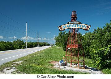 Welcome to Marathon, Florida
