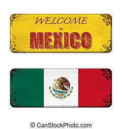 Welcome to Mexico nameplate