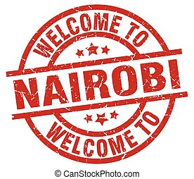 welcome to Nairobi red stamp