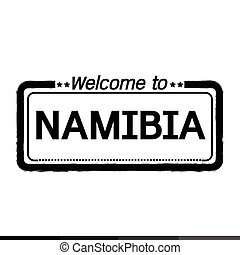 Welcome to NAMIBIA illustration design