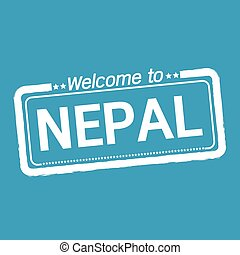 Welcome to NEPAL illustration design