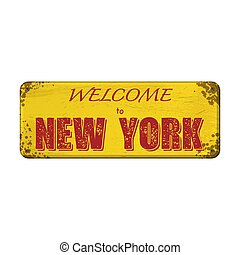 Welcome to New York board
